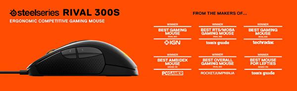 Steelseries Rival 310 Kablolu Gaming Mouse (Siyah)