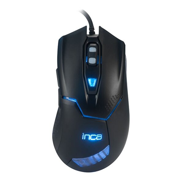 Inca Img-329 Rutless Kablolu Mouse (Siyah)