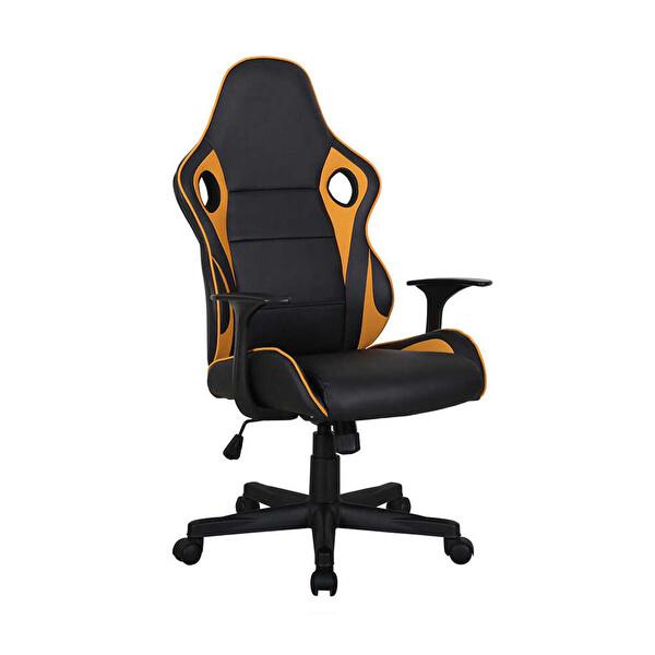 Adore Max Office Monaco Oyuncu ve Çalışma Koltuğu MXY400SH Siyah-Sarı