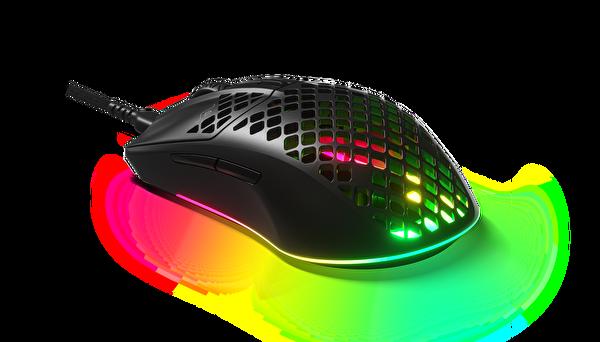 SteelSeries Aerox 3 Ultra Hafif Gaming Mouse Siyah