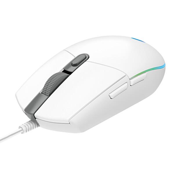Logitech G G203 Lightsync Oyuncu Mouse Beyaz