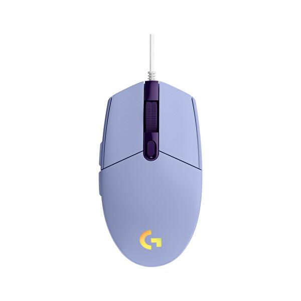 Logitech G G203 Lightsync Oyuncu Mouse lilac