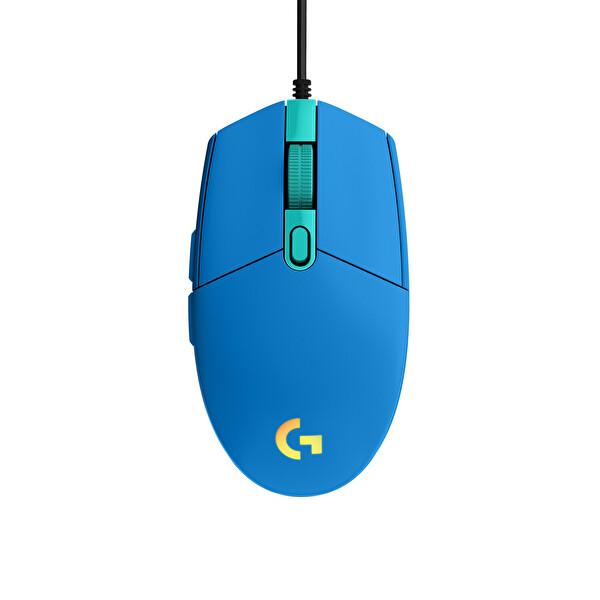 Logitech G G203 Lightsync Oyuncu Mouse Mavi