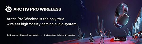 Steelseries Arctis Pro Wireless Kablosuz Hı-res Oyuncu Kulaklığı