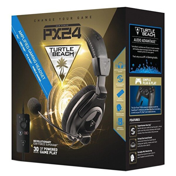 Turtle Beach Ear Force PX24 PS4 Kulak Üstü Gaming Kulaklık