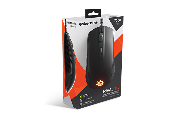 Steelseries Rival 110 Mouse +Qck Mousepad