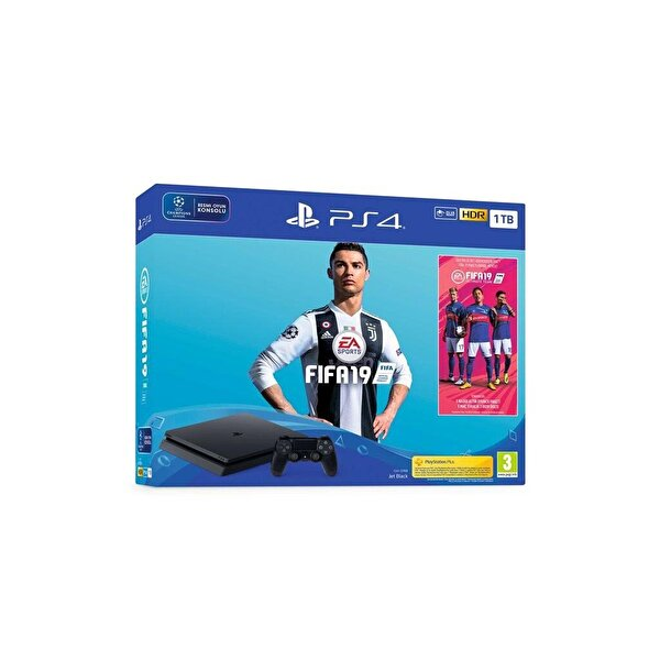 Sony PS4 1 TB Oyun Konsolu + EA Sports Fifa 19