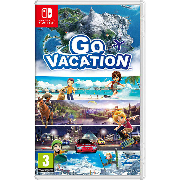 Nintendo Go Vacation Switch Oyun