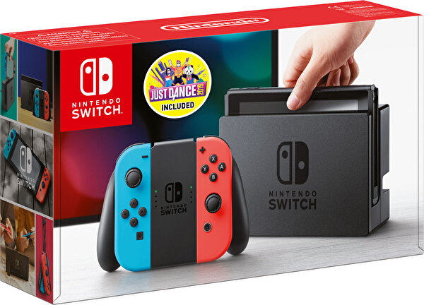 Nintendo Switch Konsol + Just Dance 2019 Bundle