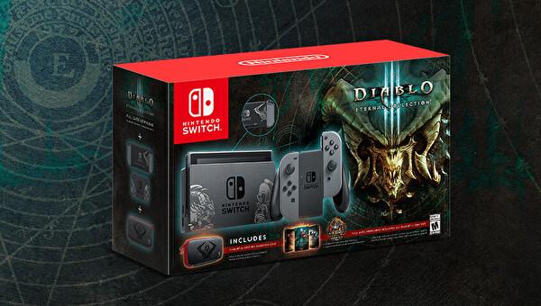 Nintendo Switch Konsol DIABLO III BUNDLE ( TESHIR )