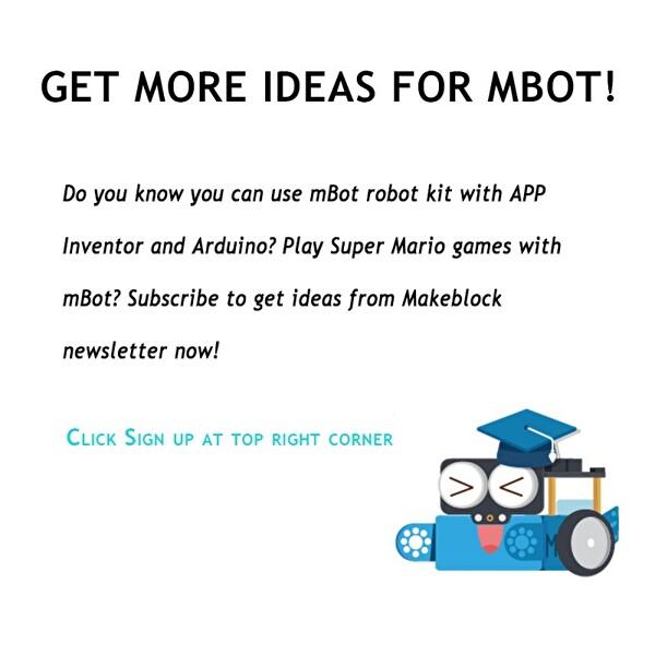 Makeblock Mbot Bluetooth Kiti V1 Mavi