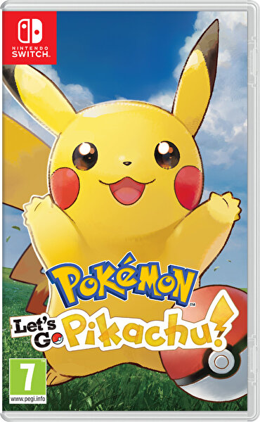 Nintendo Pokemon Let'S Go : Pikachu Switch Oyun