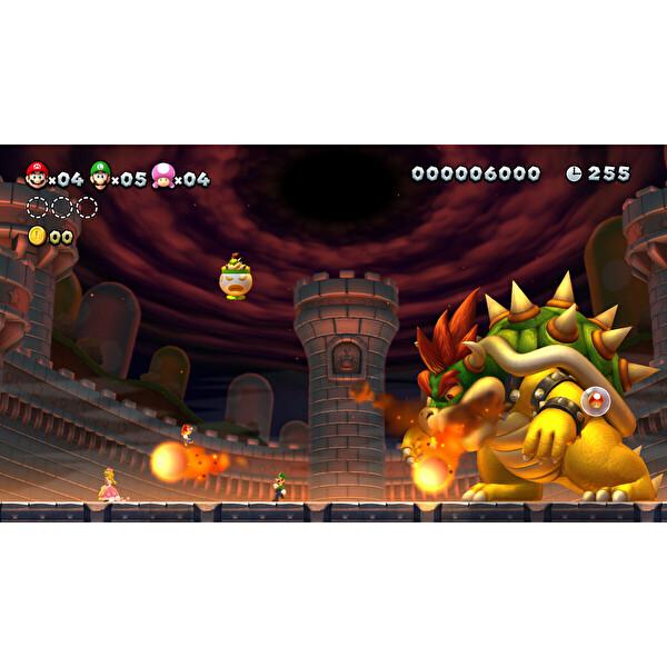 Nintendo New Super Mario Bros U Deluxe Switch Oyun