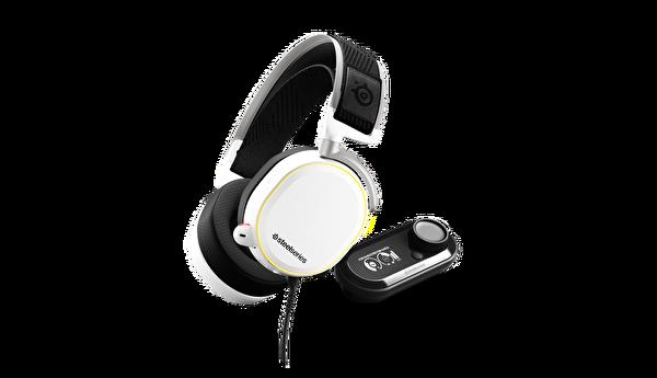 Steelseries Arctis Pro + Gamedac Hi-Res Oyuncu Kulaklığı - Beyaz