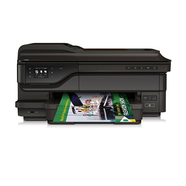 HP 7612 Officejet Fotokopi + Tarayıcı + Faks + Wi-Fi + Airprint + A3 + Çok Fonksiyonlu Inkjet Yazıcı
