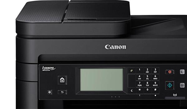 Canon MF237W I-Sensys Fotokopi + Tarayıcı + Wifi Yazıcı
