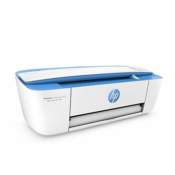 HP 3787 DeskJet Ink Advantage Fotokopi + Tarayıcı + Wi-Fi Airprint + Çok Fonksiyonlu Inkjet Yazıcı