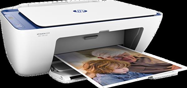 HP 2630  Fotokopi + Tarayıcı Wi-Fi Airprint + Çok Fonksiyonlu Inkjet Yazıcı