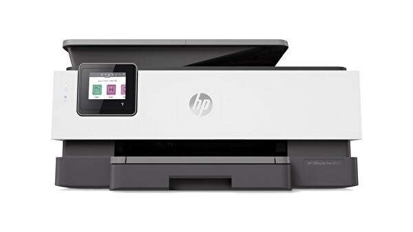 HP Officejet Pro 8023 + Fotokopi + Faks + Tarayıcı + Wifi + Airprint + Çift Taraflı + Çok Fonksiyonlu İnkjet Yazıcı 1KR64B