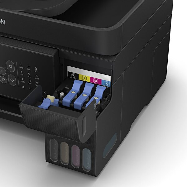 Epson EcoTank L5190 Fotokopi + Tarayıcı + Faks + WiFi Direct Tanklı Yazıcı