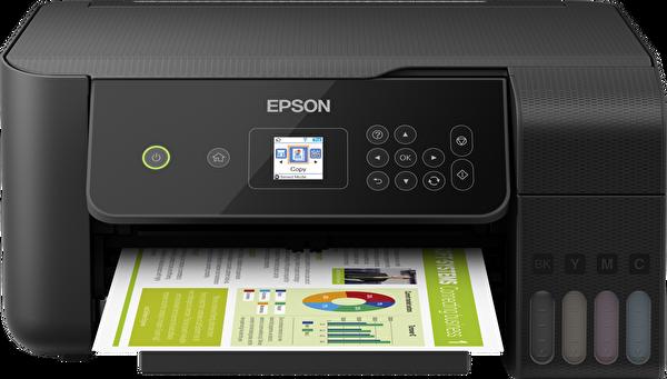 EPSON EcoTank L3160 Fotokopi + Tarayıcı + WiFi Direct Tanklı Yazıcı ( OUTLET )