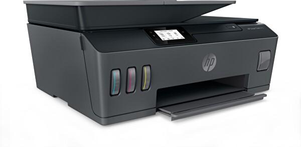 HP Smart Tank 615 + Fotokopi + Faks + Tarayıcı + Wifi + Airprint + Çok Fonksiyonlu İnkjet Tanklı Yazıcı Y0F71A