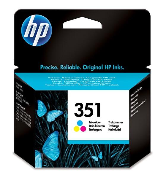 HP 351 Üç Renkli Mürekkep Kartuş (Cb337Ee)