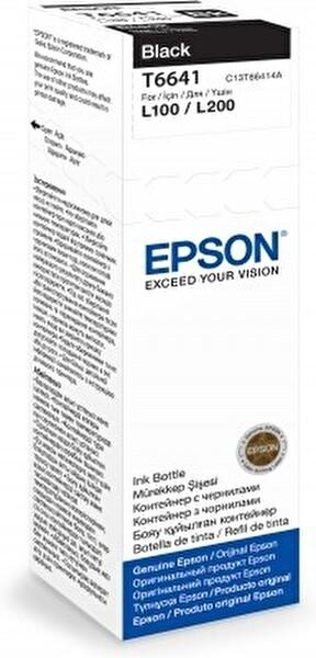 Epson T6641 Siyah Kartuş