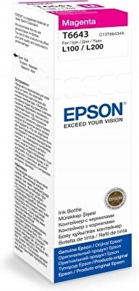 Epson T6643 Kırmızı Kartuş