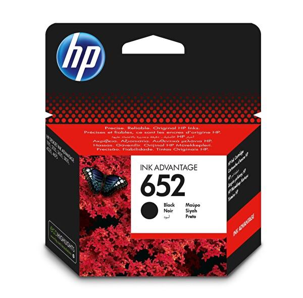 HP 652 F6V25Ae Mürekkep Kartuş Siyah