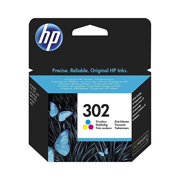 HP 302 Renkli Mürekkep Kartuşu (F6U65AE)