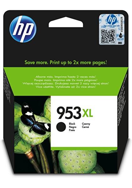 HP 953Xl Siyah Yüksek Kapasiteli Mürekkep Kartuşu (L0S70Ae)