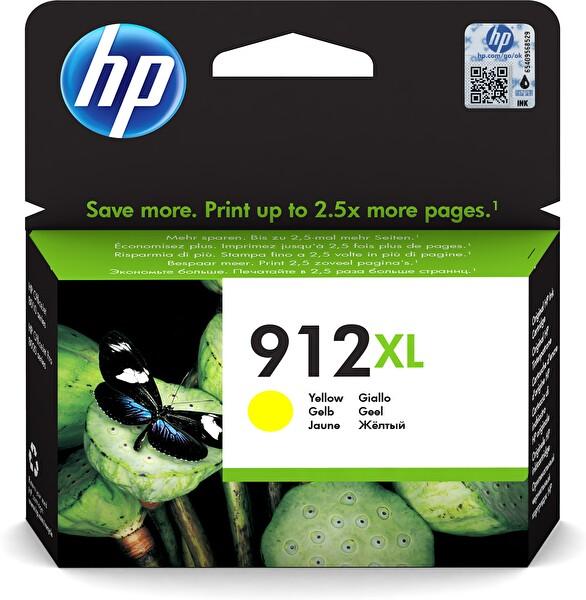 HP 3YL83AE 912XL Sarı Kartuş