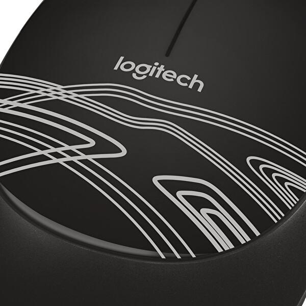 Logitech M105 Kablolu Mouse (Siyah)