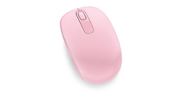 Microsoft Mobile 1850 Kablosuz Mouse (Açık Pembe)