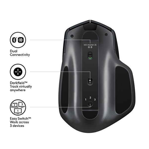 Logitech MX Master 2S Graphite Siyah Kablosuz Mouse