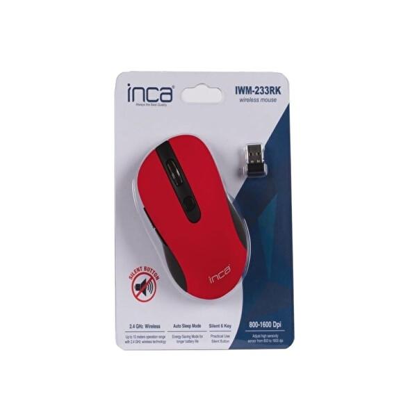 Inca IWM-233RK 1600 dpı Silent Wireless Mouse