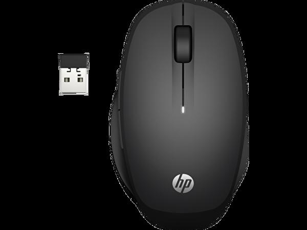 HP İkili Modlu 300 Kablosuz  Mouse - Siyah