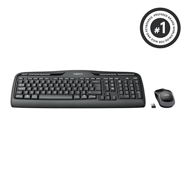 Logitech MK330 Kablosuz Combo Tr Klavye Mouse Set (920-003988)