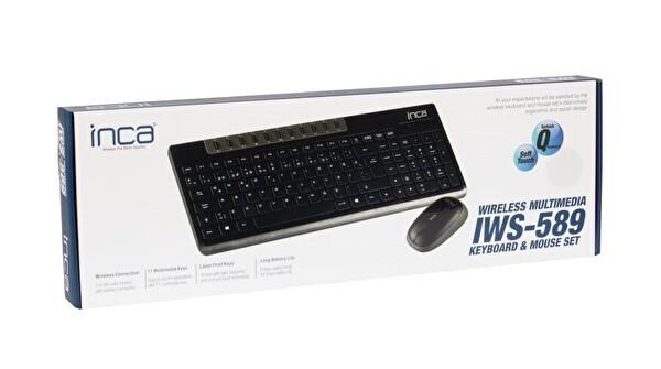 Inca Iws-589 Wireless Multimedia Super Cosy Klavye Mouse Set