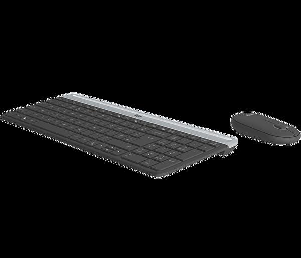 Logitech MK470 Kablosuz Klavye Mouse Seti Graphite