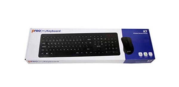 Preo My Keyboard K7 Kablosuz Klavye & Mouse Set