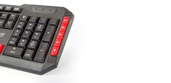 Inca IK-282Q Usb Kablolu Multimedya Klavye