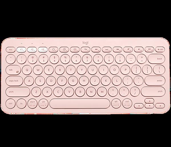 Logitech K380 Multi-Device Bluetooth(R) Klavye-Rose