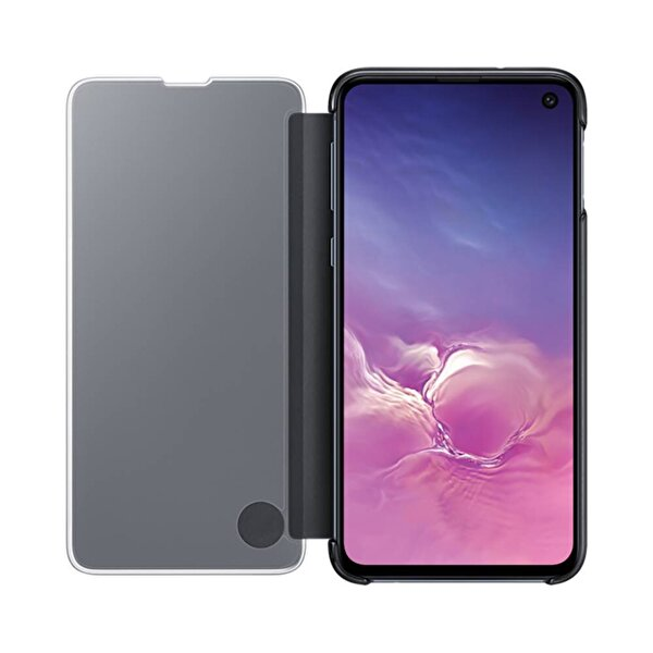 Samsung Galaxy S10 Siyah Flat Led Cover