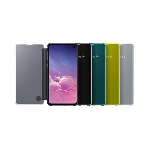 Samsung Galaxy S10 Siyah Flat Led Cover