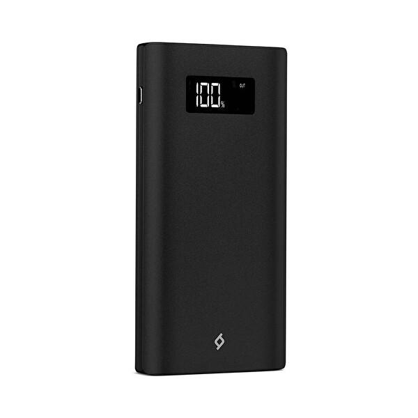 Ttec Alumislim LCD 10.000 mAh Taşınabilir Şarj Cihazı - Siyah