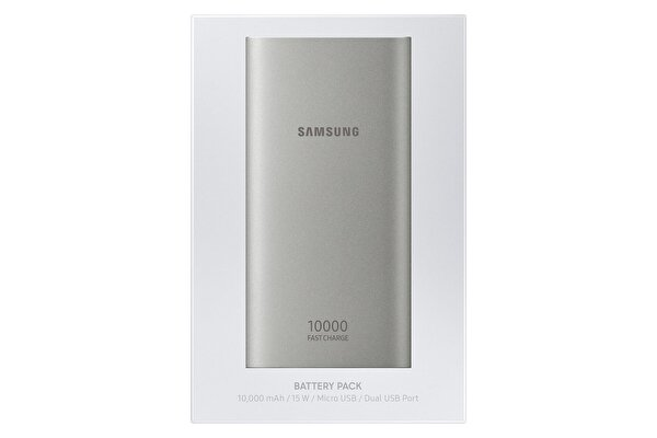 Samsung 10.000 MAH Taşınabilir Şarj Cihazı Gümüş