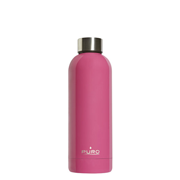 Puro Stainless Steel Hot&Cold Parlak PEMBE 500ML