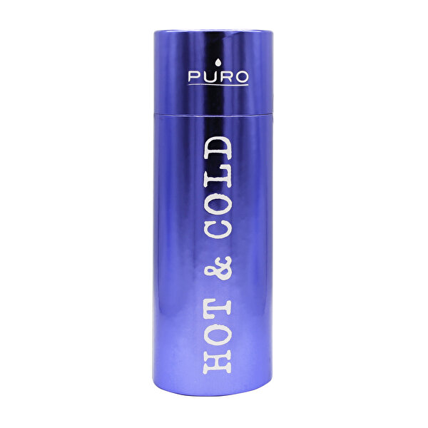 Puro Stainless Steel Hot&Cold Mat Metalik Mavi 500ML
